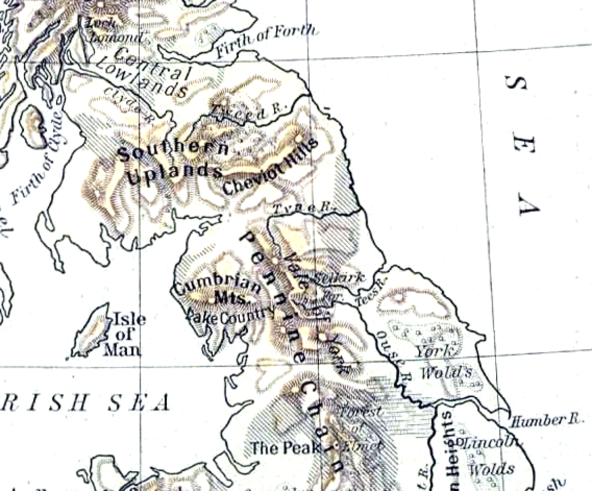With the surrounding shires, Northumbria was again divided until Siward 'the Strong' drew both Deira and Bernicia into one earldom through wedding Earl Ealdred's daughter Aelfflaed