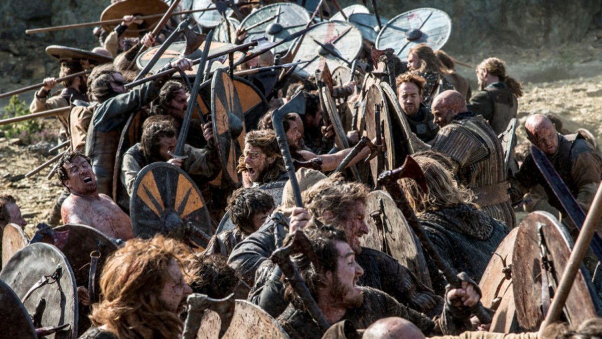 On 20th September Harald Sigurdsson proved he was still the warrior leader. With Tostig Godwinson his Norsemen and Tostig's small ragtag force of Flemings and Anglo-Danish huscarls defeated the combined Northumbrian-Mercian fyrd at Gate Fulford