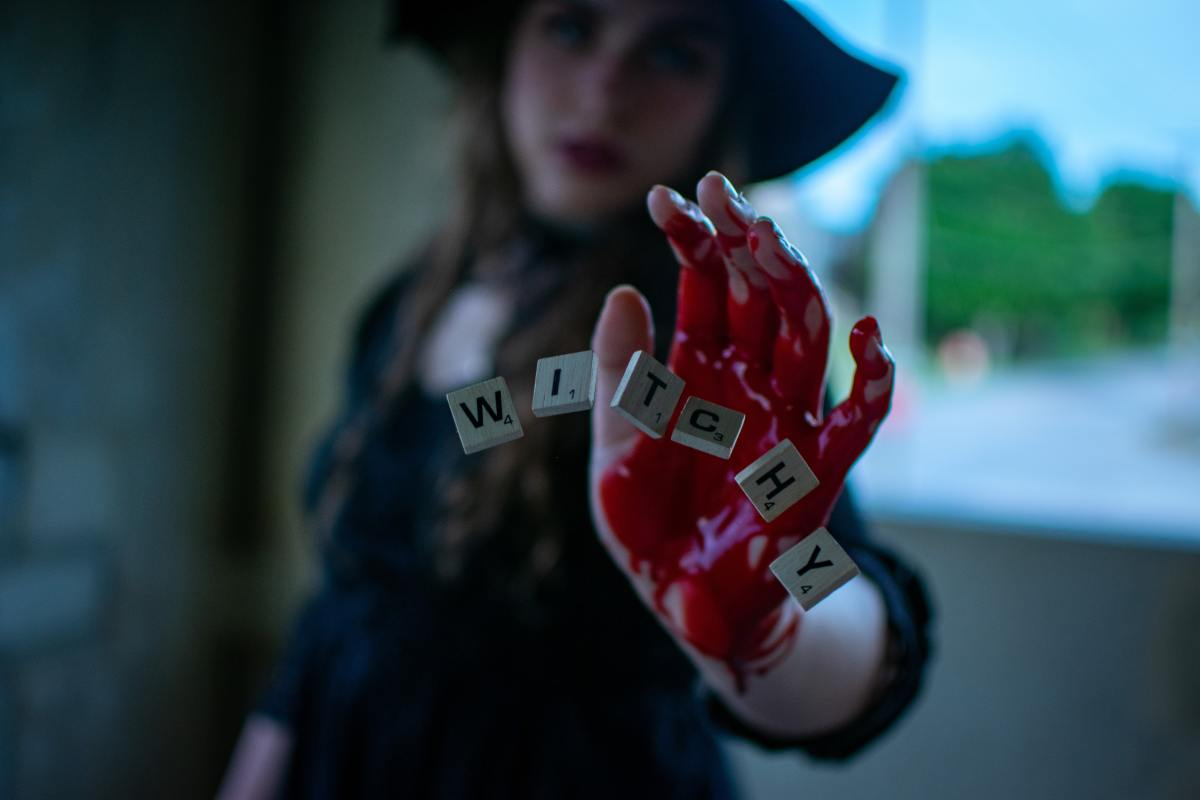 Blood can be a powerful agent in magickal workings.