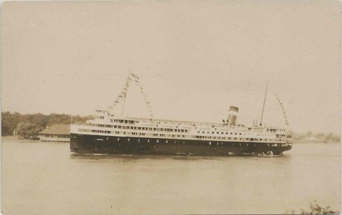 SS Noronic.