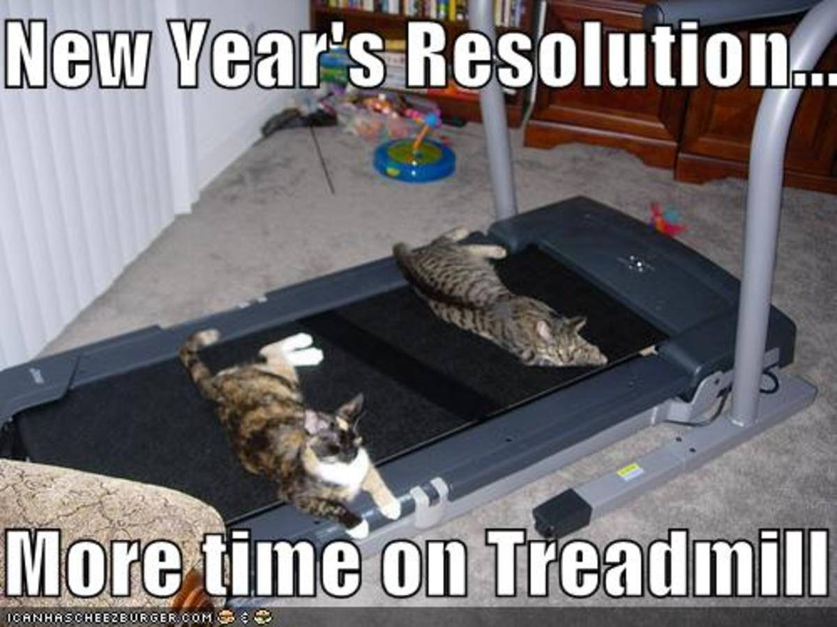New Year's Resolution #1 - More Exercise