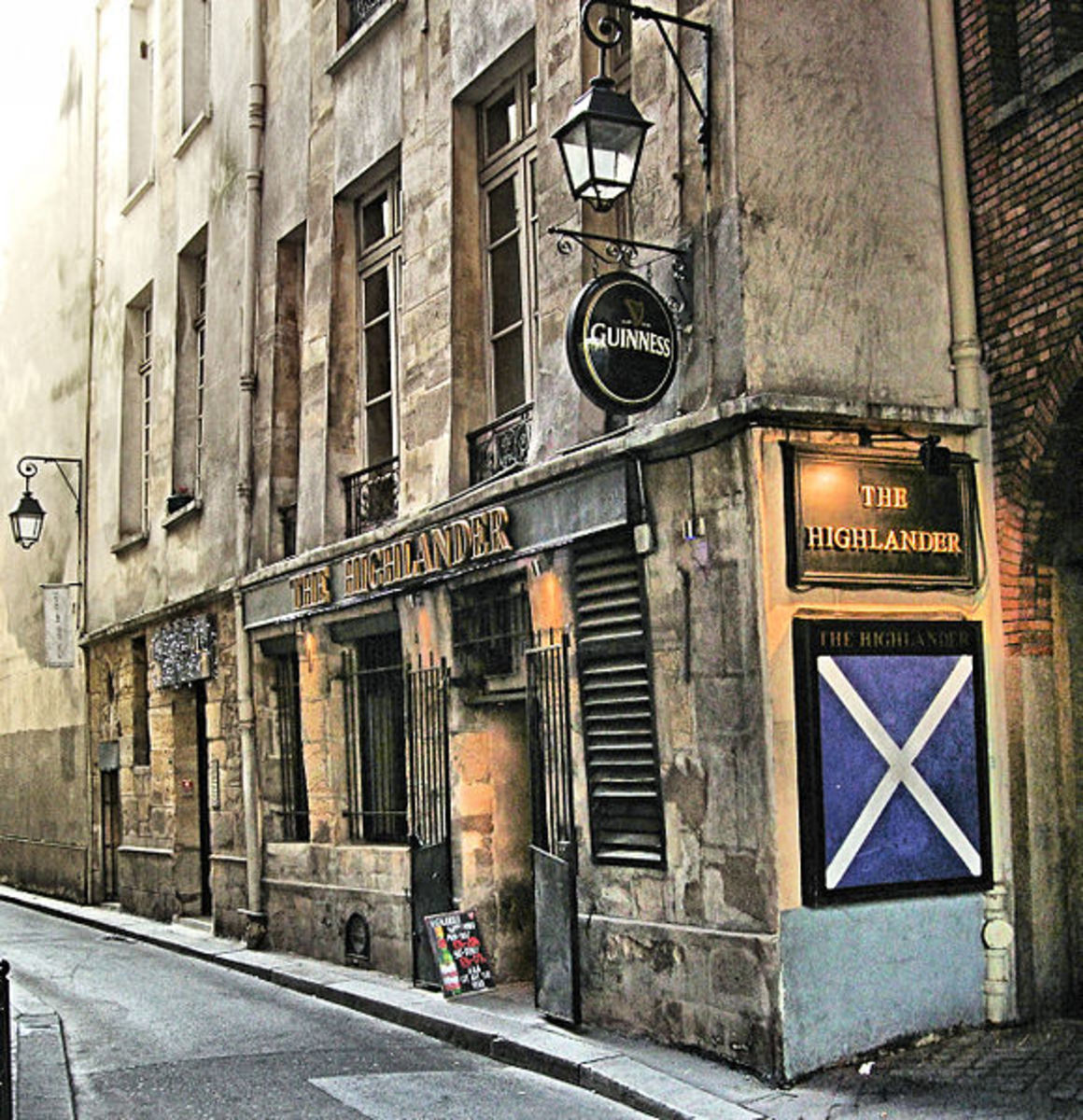 The Highlander Scottish Pub (I know)