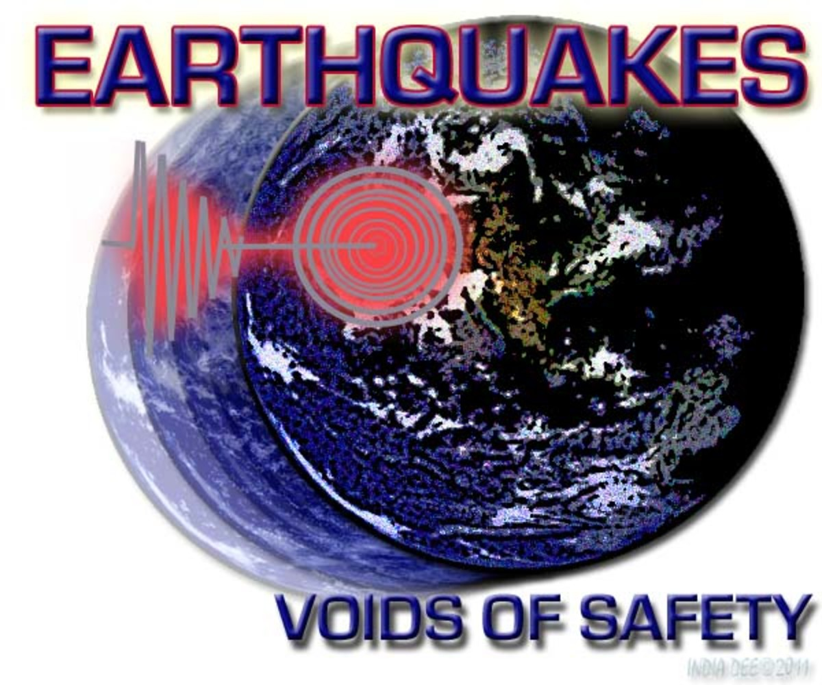 Finding the Void during an Earthquake can save your life!