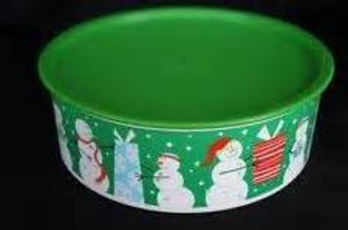 Christmas Cookie Storage Container