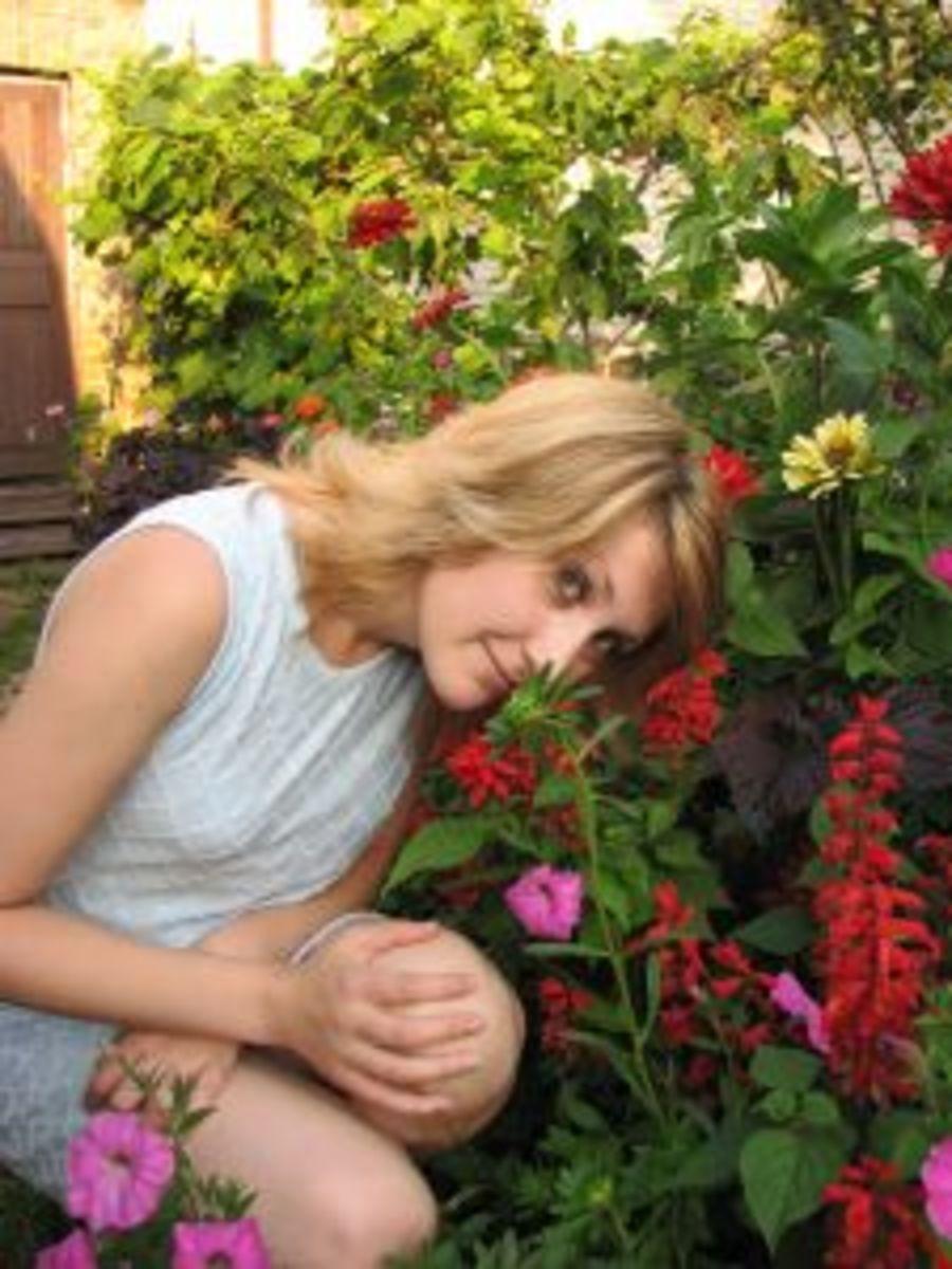 Women loves flower romantic gift