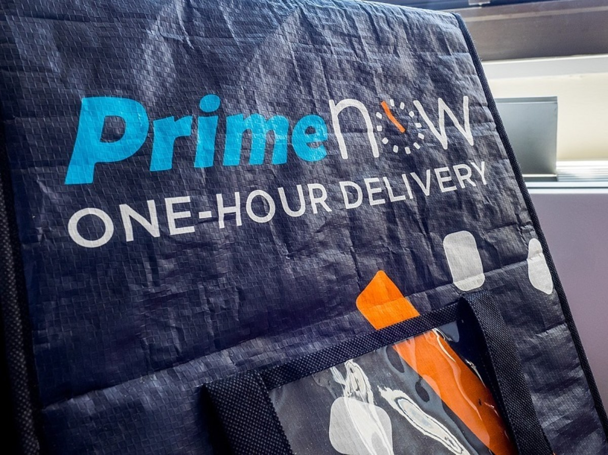 Prime membership offers one-hour premium delivery in some cities.