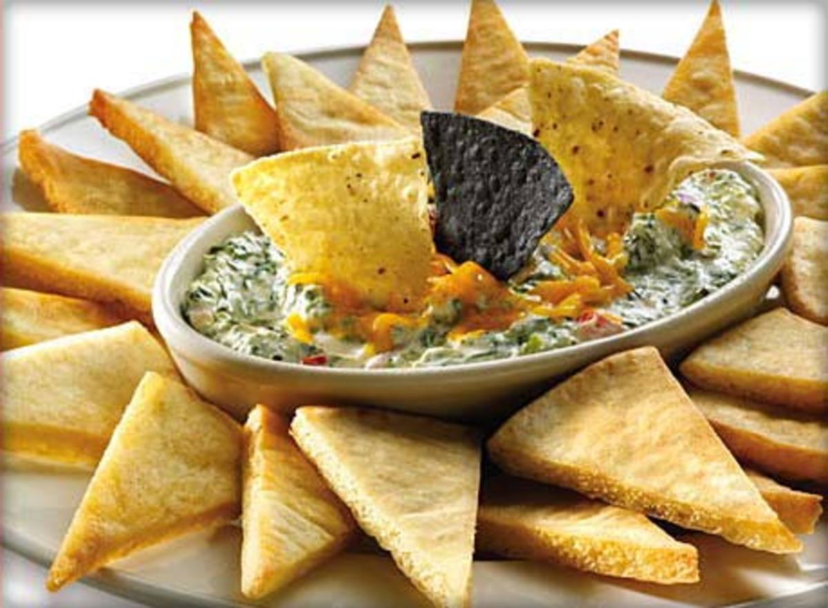Spinach Shrimp dip appetizer