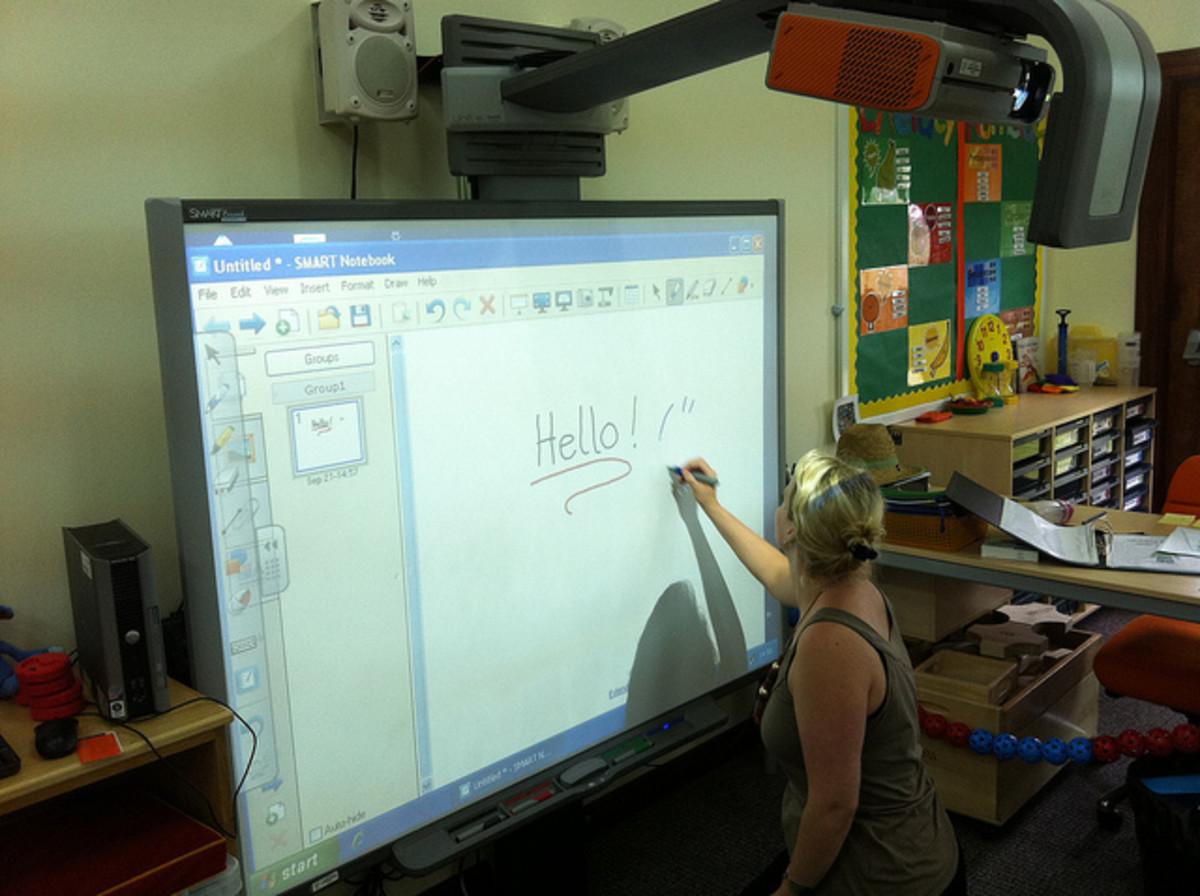 electronic-whiteboard