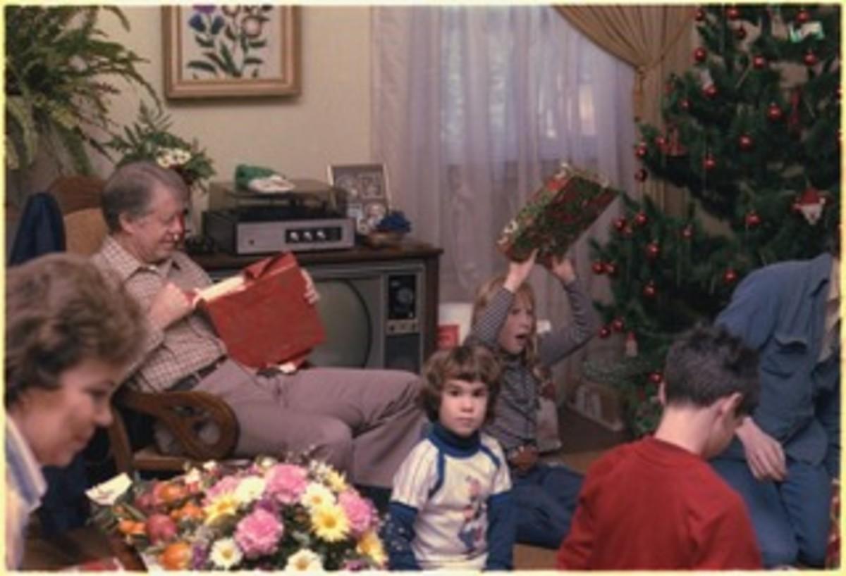 The traditional family Christmas.