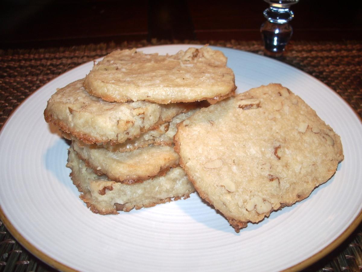 World's Best Coconut Shortbread Cookie