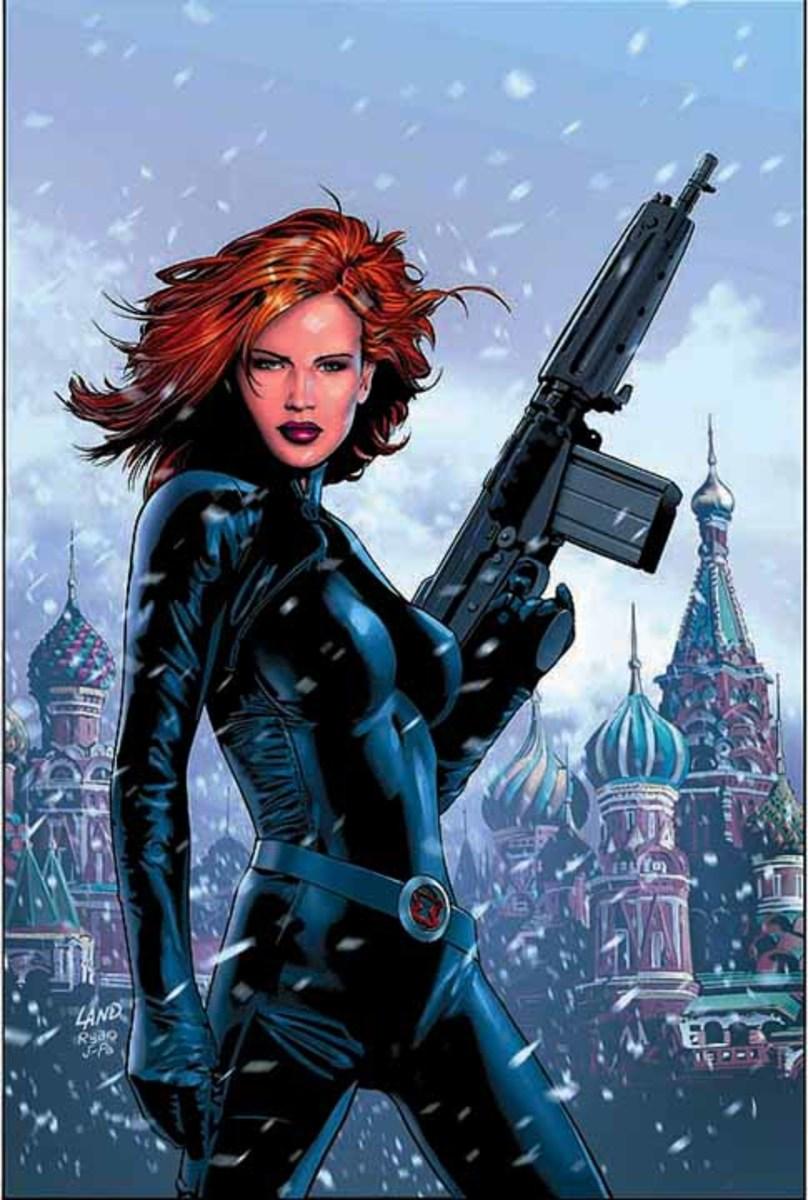 Natasha Romanova (also known as the Black Widow).