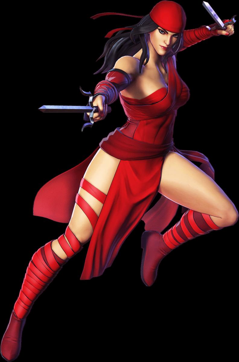 The lovely Elektra.