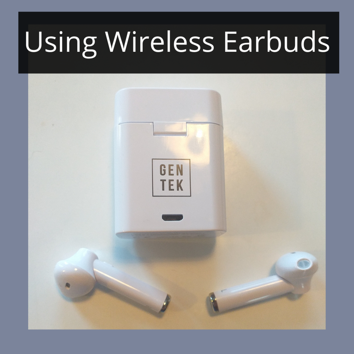 How to pair earbuds that have become unpaired.