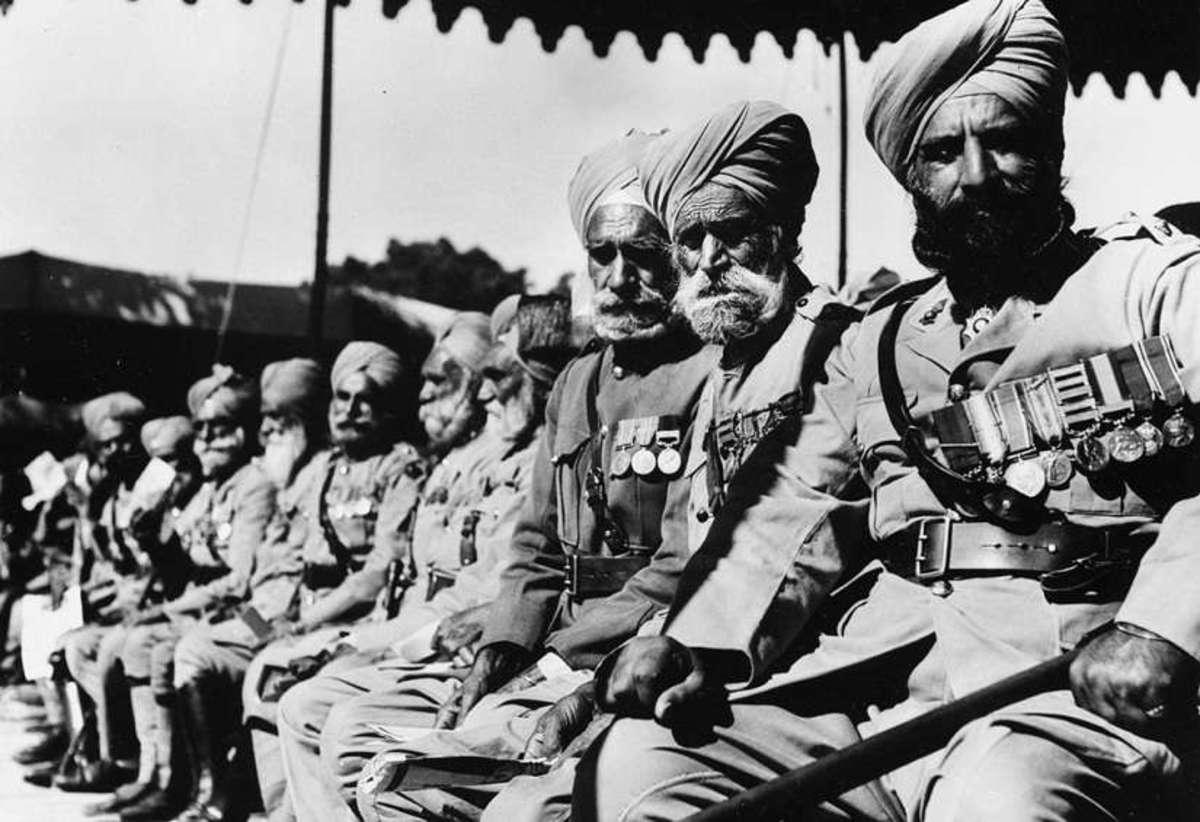 Sikh veterans of WWI