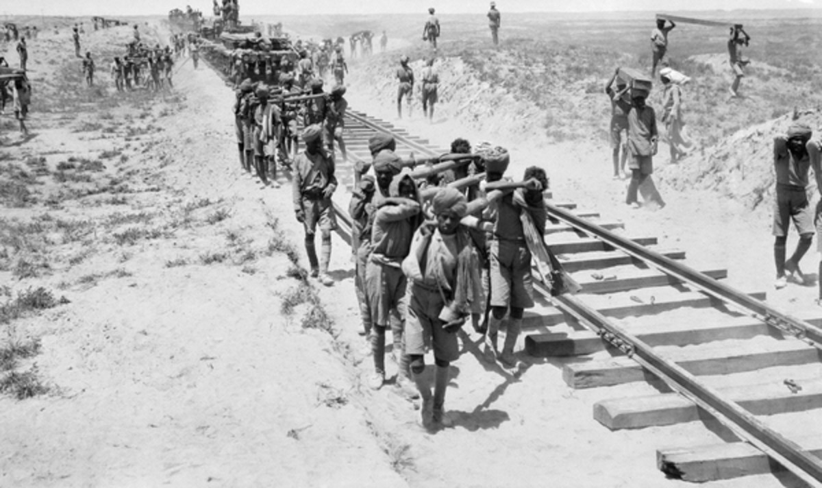 Indian military engineers in Mesopatamia
