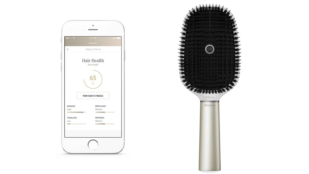 Brush your hair healthy the 'smart' way