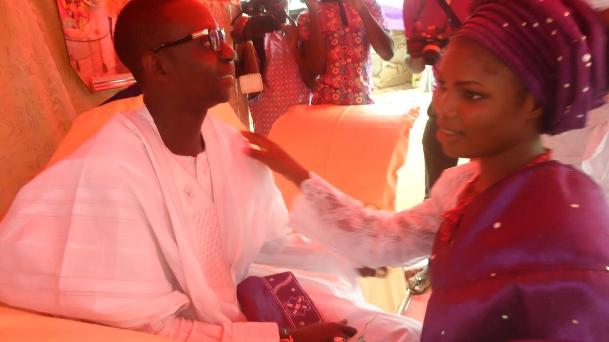 Newly Wed, Pamilerin and Kemi Ogundare