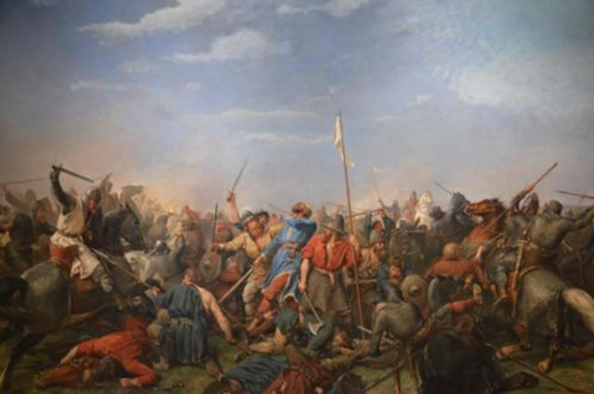 CONQUEST - 4: 1066, A YEAR OF STRUGGLE - Four Battles Fought For The Kingdom, William's First Was Nearly His Last...
