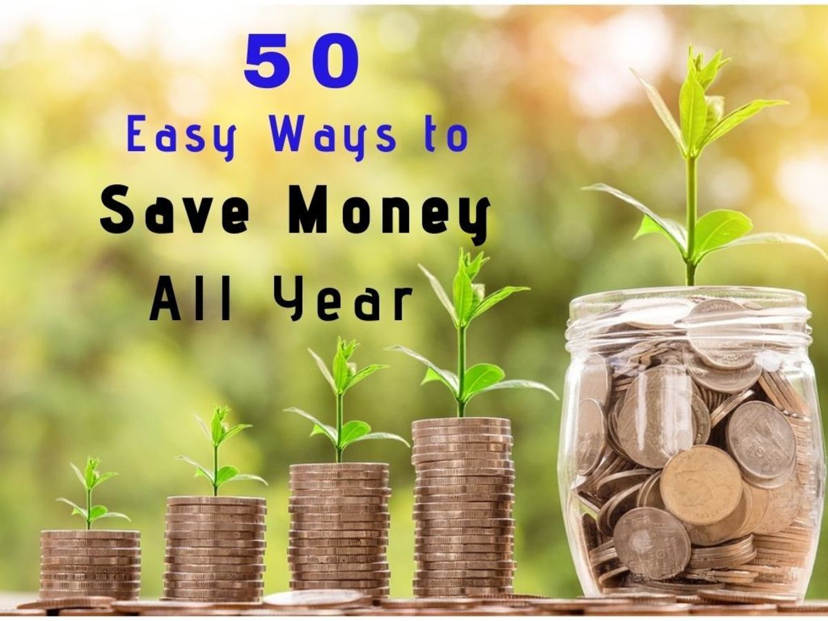50 Easy Ways to Save Money Every Day