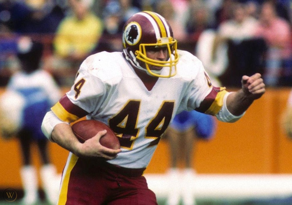 John Riggins' one-yard touchdown run ended the Saints' hope for an upset