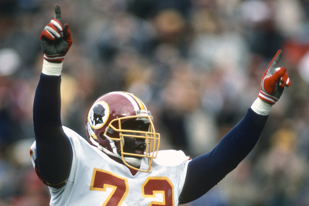 """""""There is nothing better than to be No. 1,"""" defensive end Dexter Manley"""
