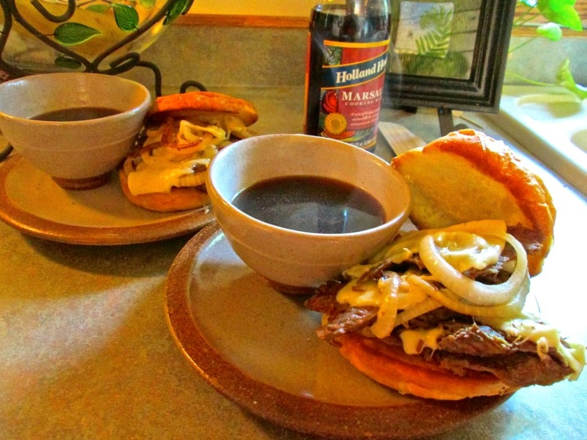 Quick and Easy French Dips Recipe With Onions