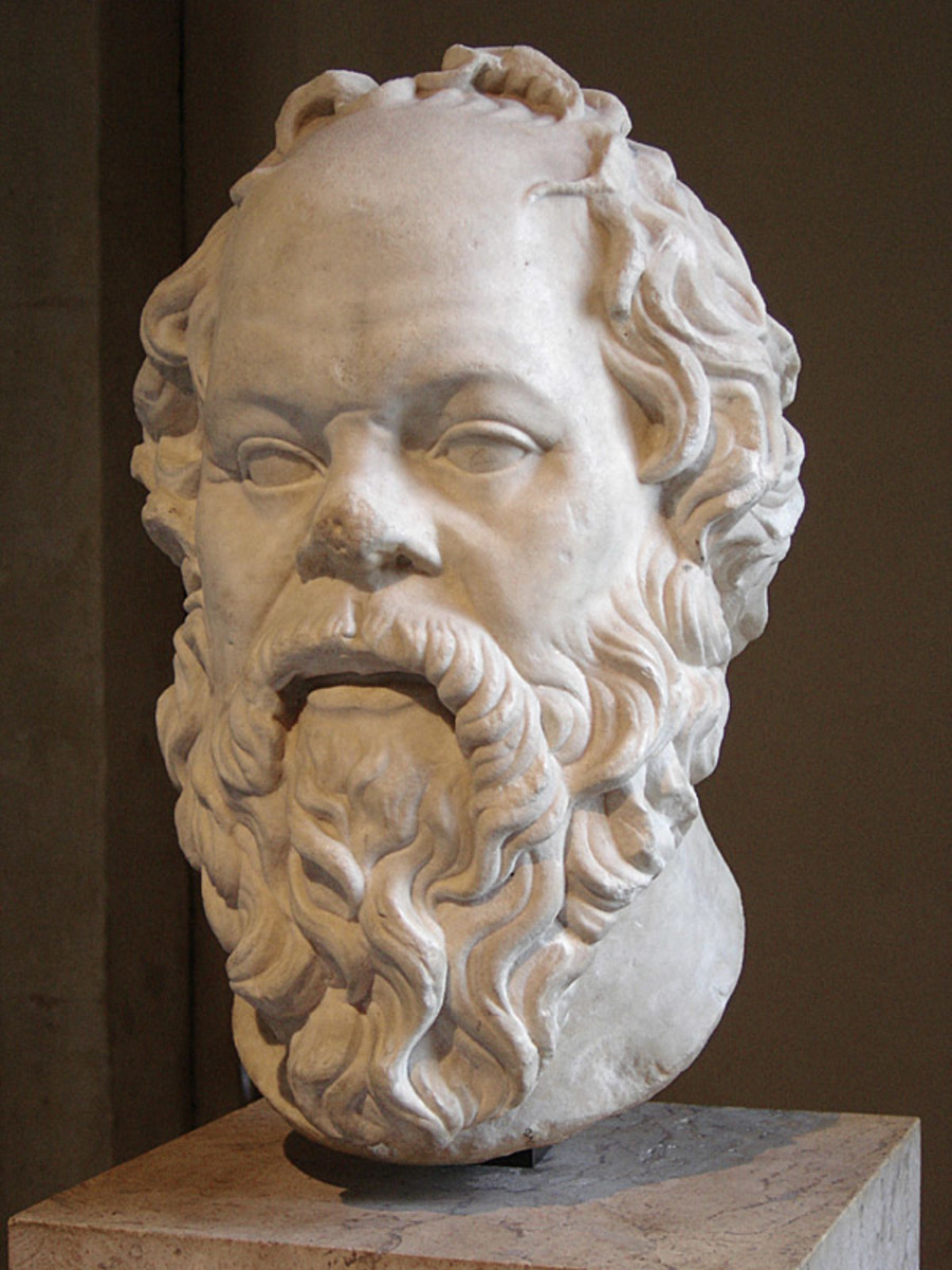 Socrates, one of the Father's of philosophy.  Most Americans do not know who Socrates was, or why they should care.