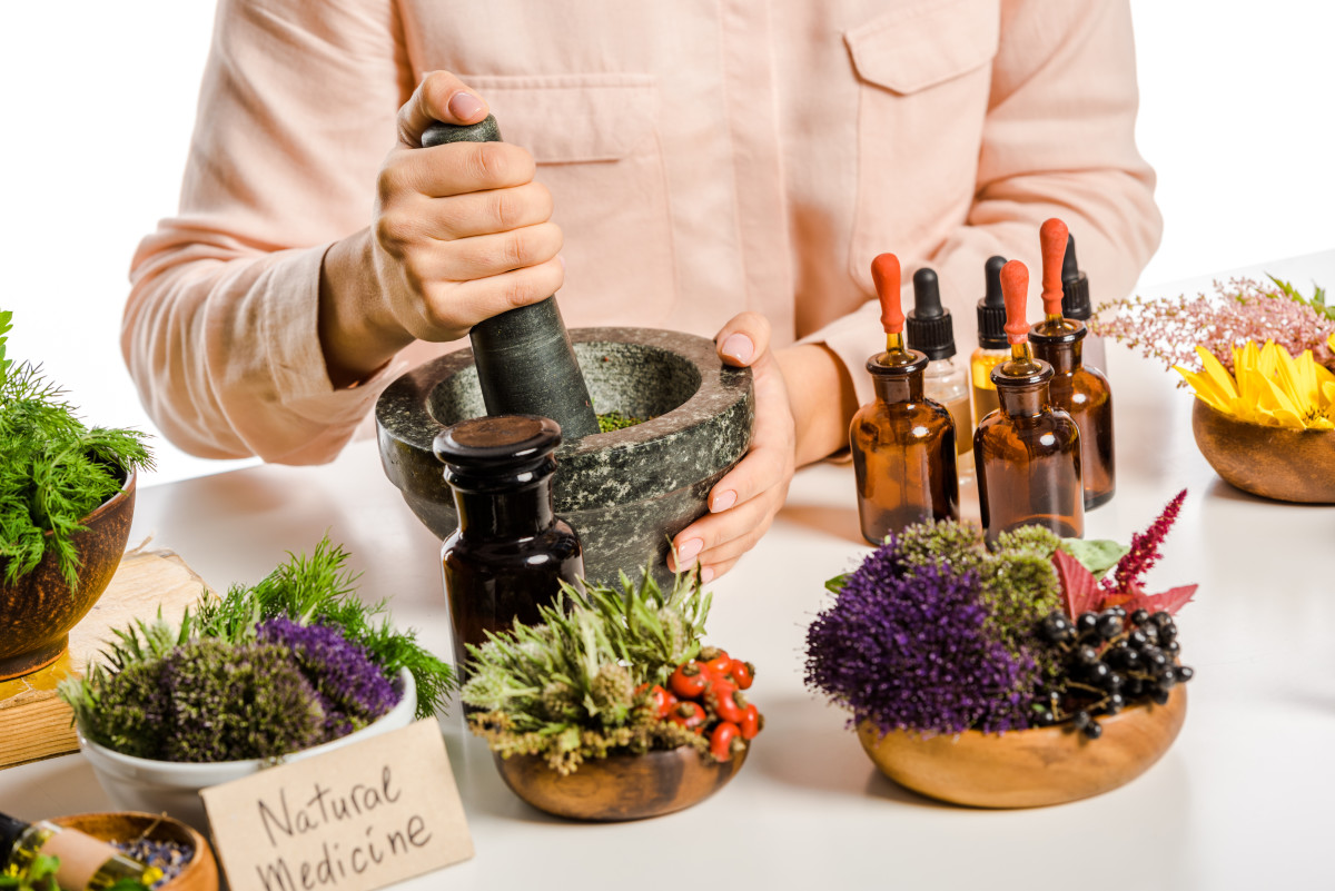 Tinctures and Herbs