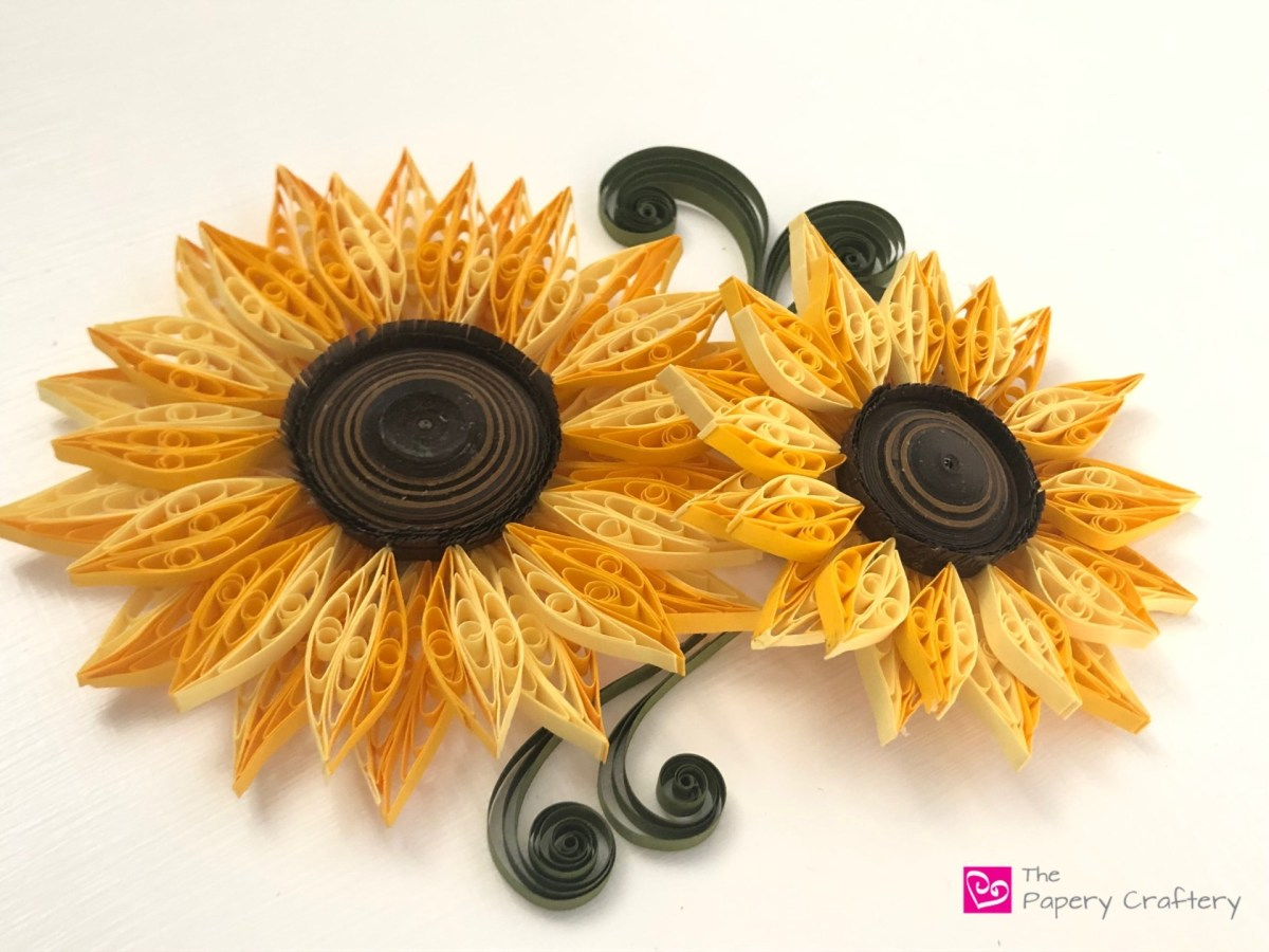 Make these delightful sunflowers in a few easy steps
