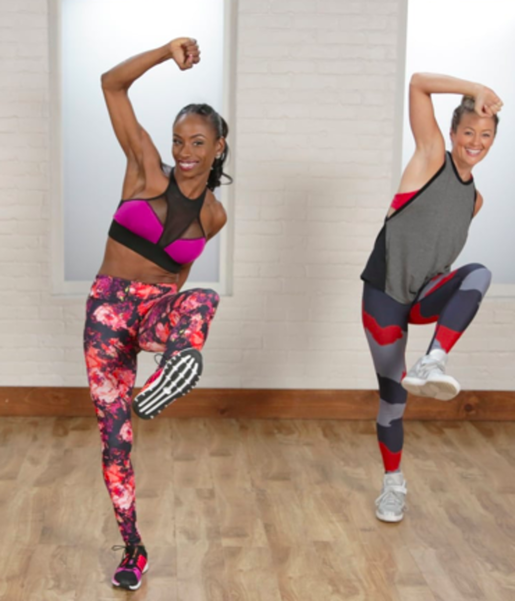 Join a fitness class or use a workout DVD at home to get you moving
