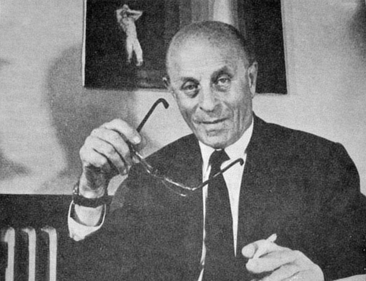 László Bíró in about 1978.