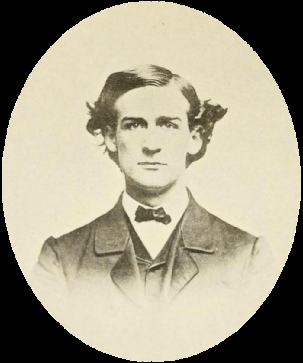 John J. Loud in about 1866.