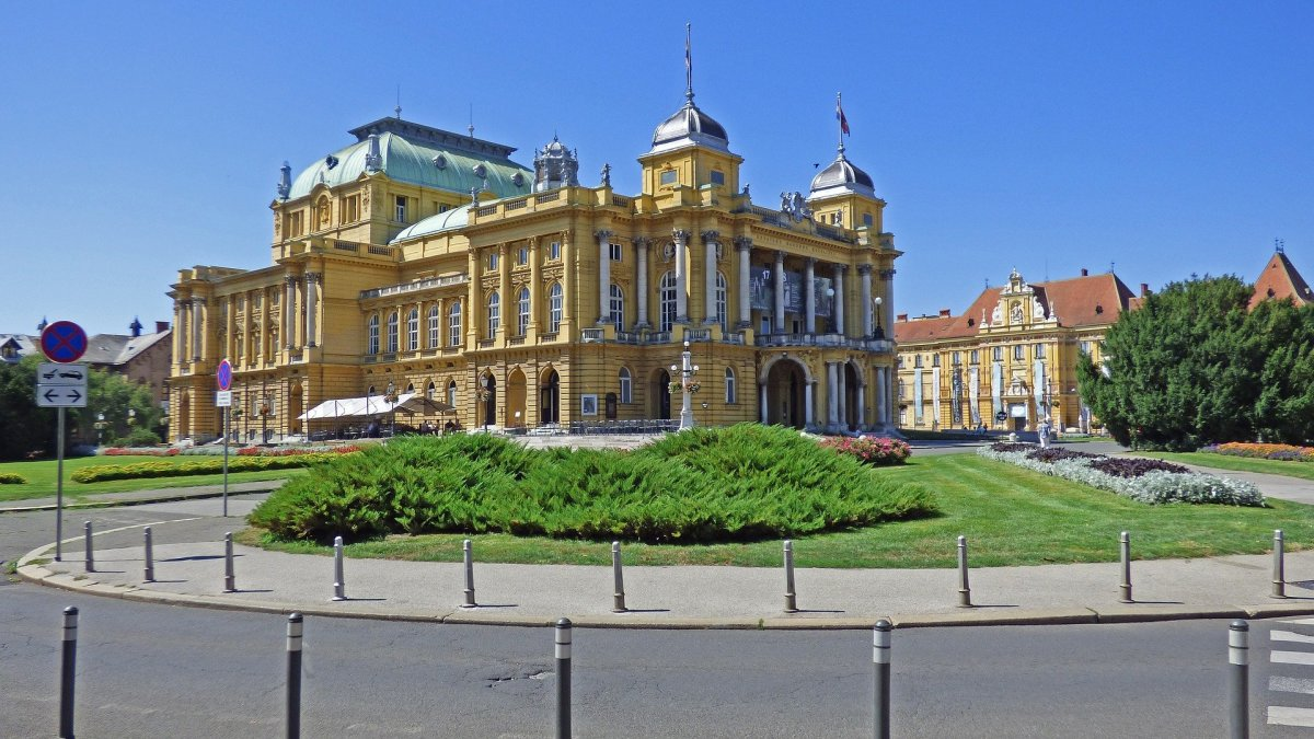 Croatian National Theater in My Home Town that's over Thousand Years Old.