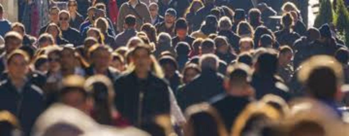 rapid increasing human population