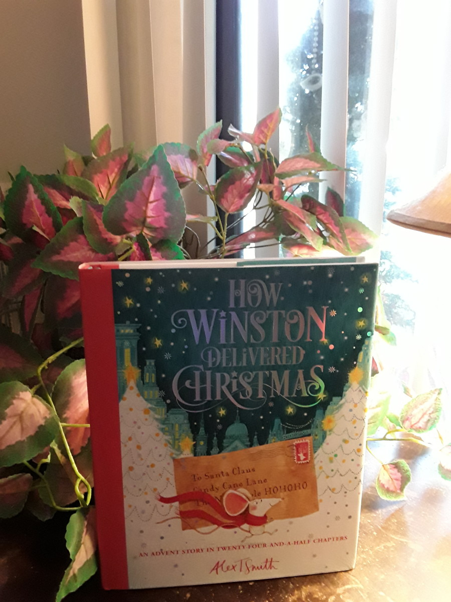Christmas Count-Down With Winston and His Mission to Get His Letter to Santa Delivered On Time