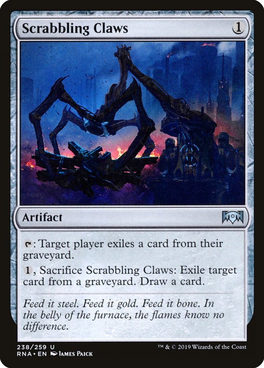 Scrabbling Claws mtg