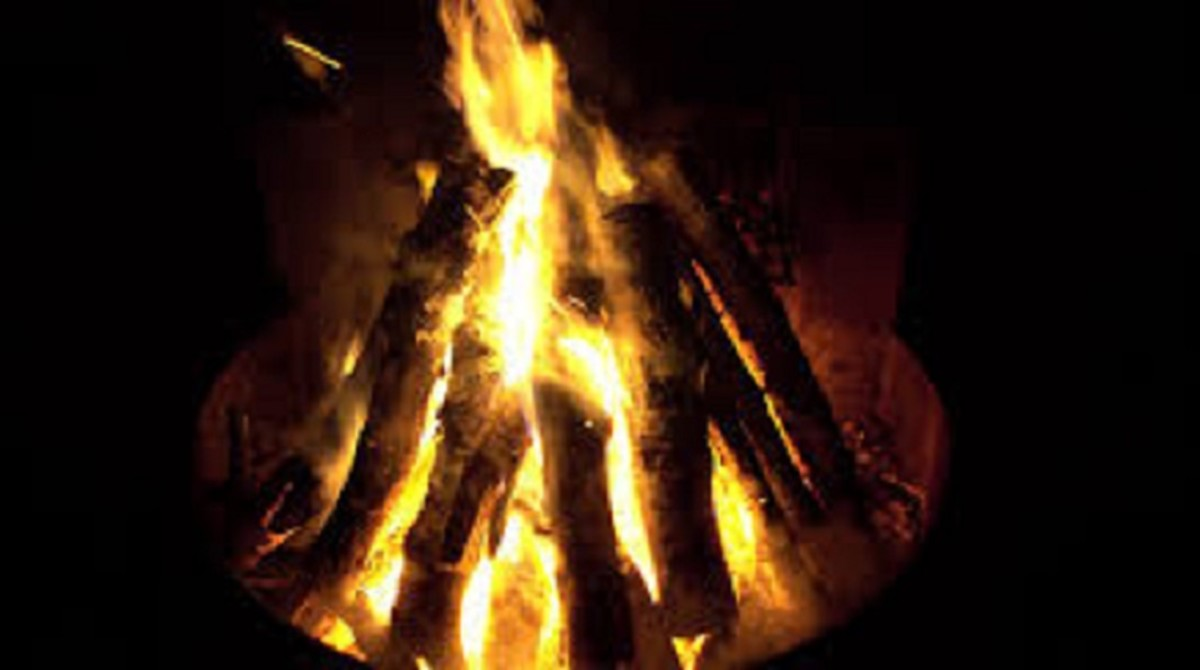 Fire is a great element for calming and centering some people.