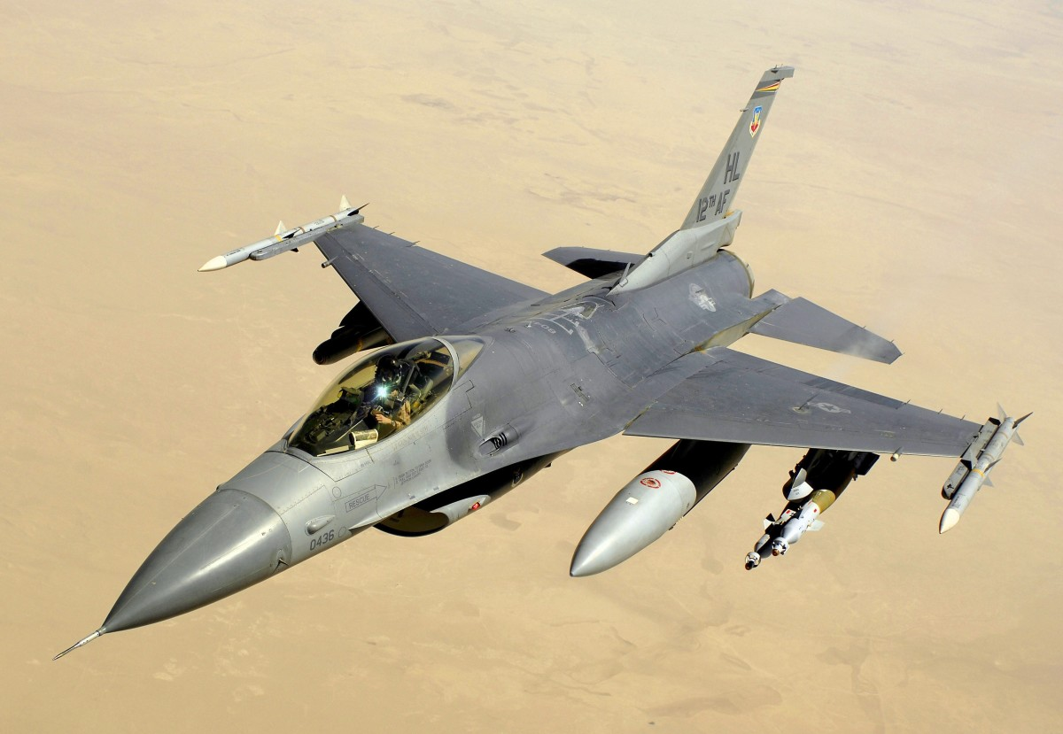 the F-16, an example of a successful fourth generation fighter.