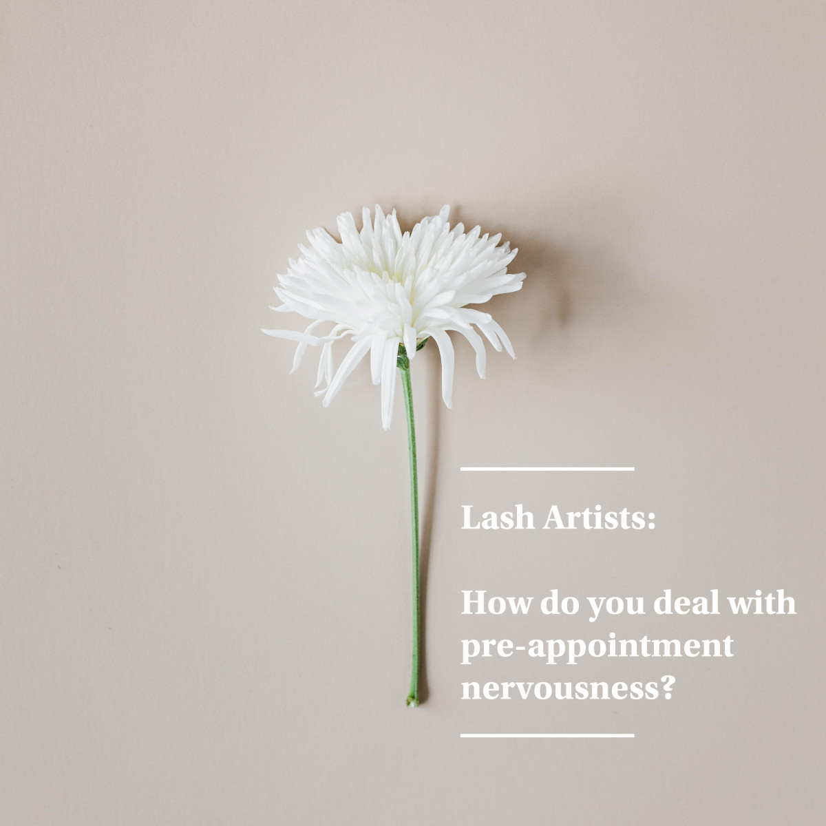 Share your best tips for managing your anxiety before eyelash extensions appointments in the comments.