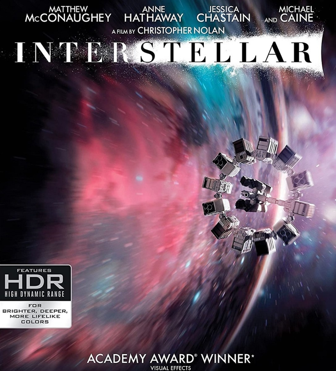 Interstellar - One of the best space travel films ever made.