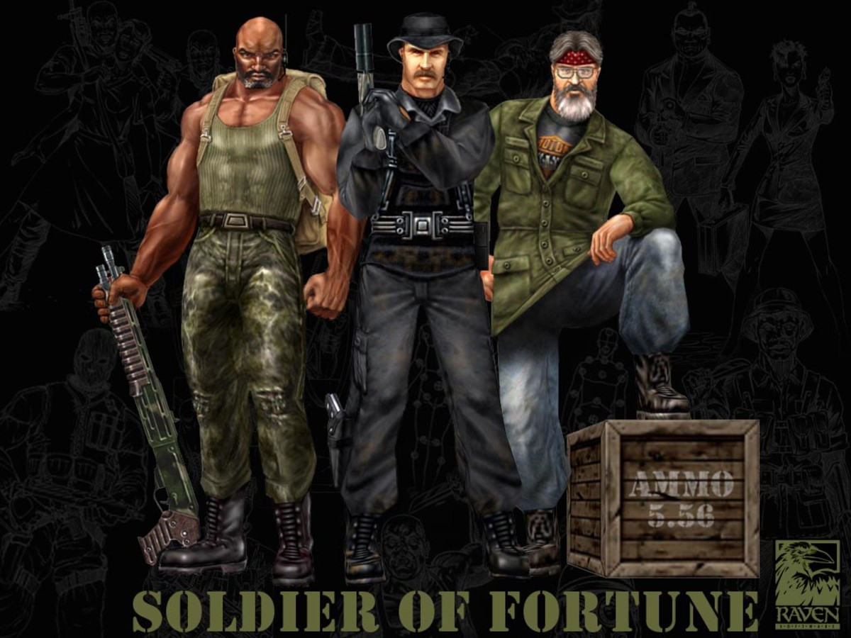Best Shooter Ever - Soldier of Fortune
