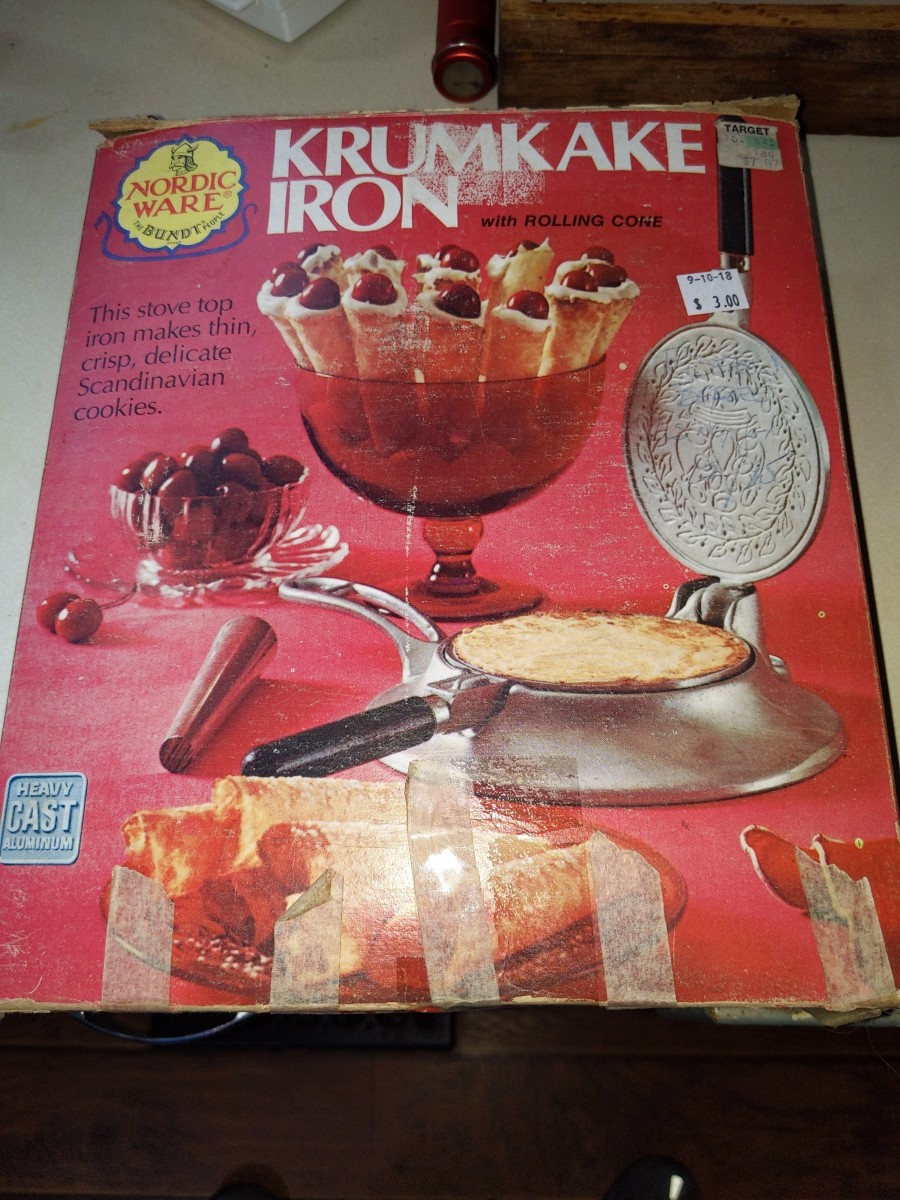 This iron is very old and I purchased it secondhand.