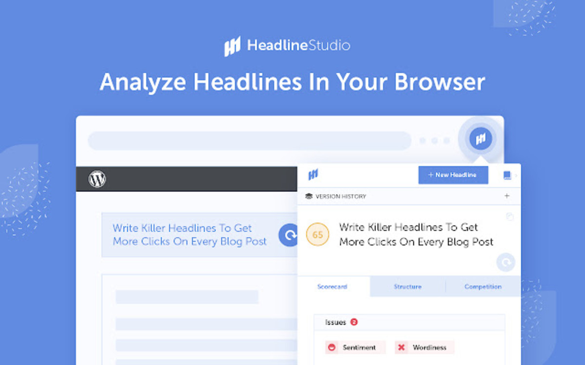 Use a headline analyzer to get the best headlines