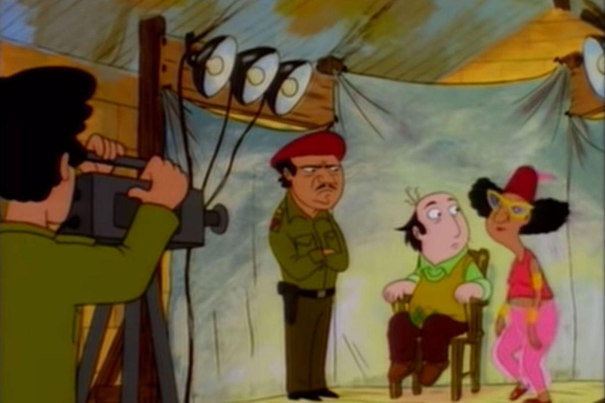 "Screenshot from ""Sherman of Arabia"""