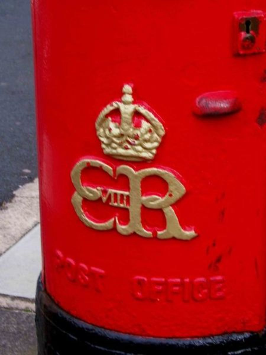 Rare Edward III Post Box