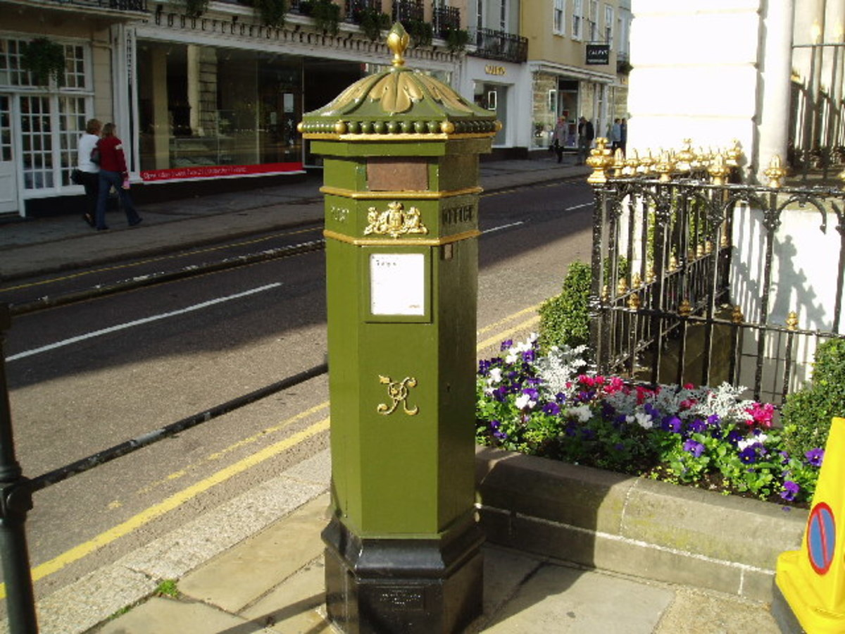 Antique Architectural Post Boxes