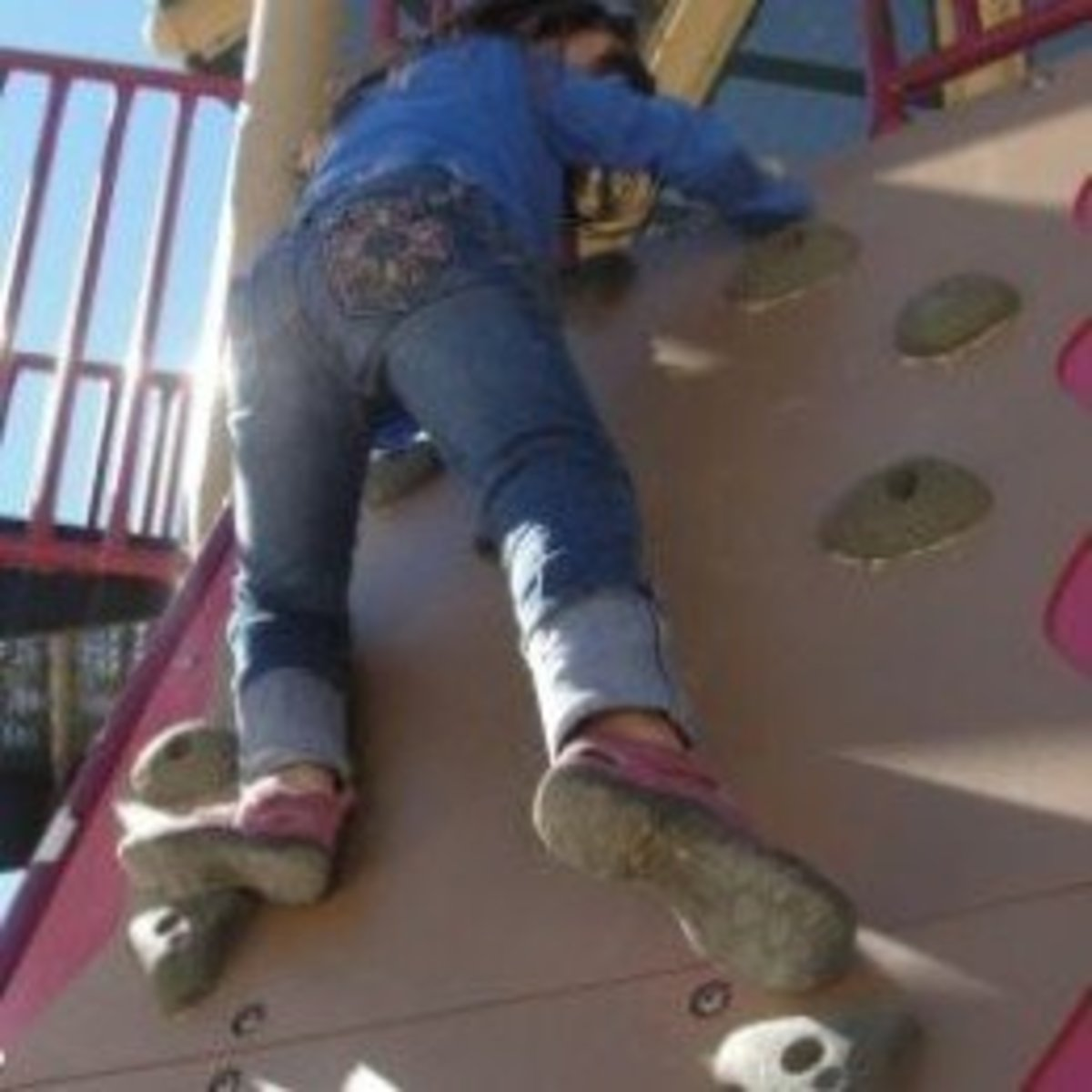 Rock climbing activity from Lesson 2: To Mount Everest and Beyond: A Lesson on Mountain Climbing for Children