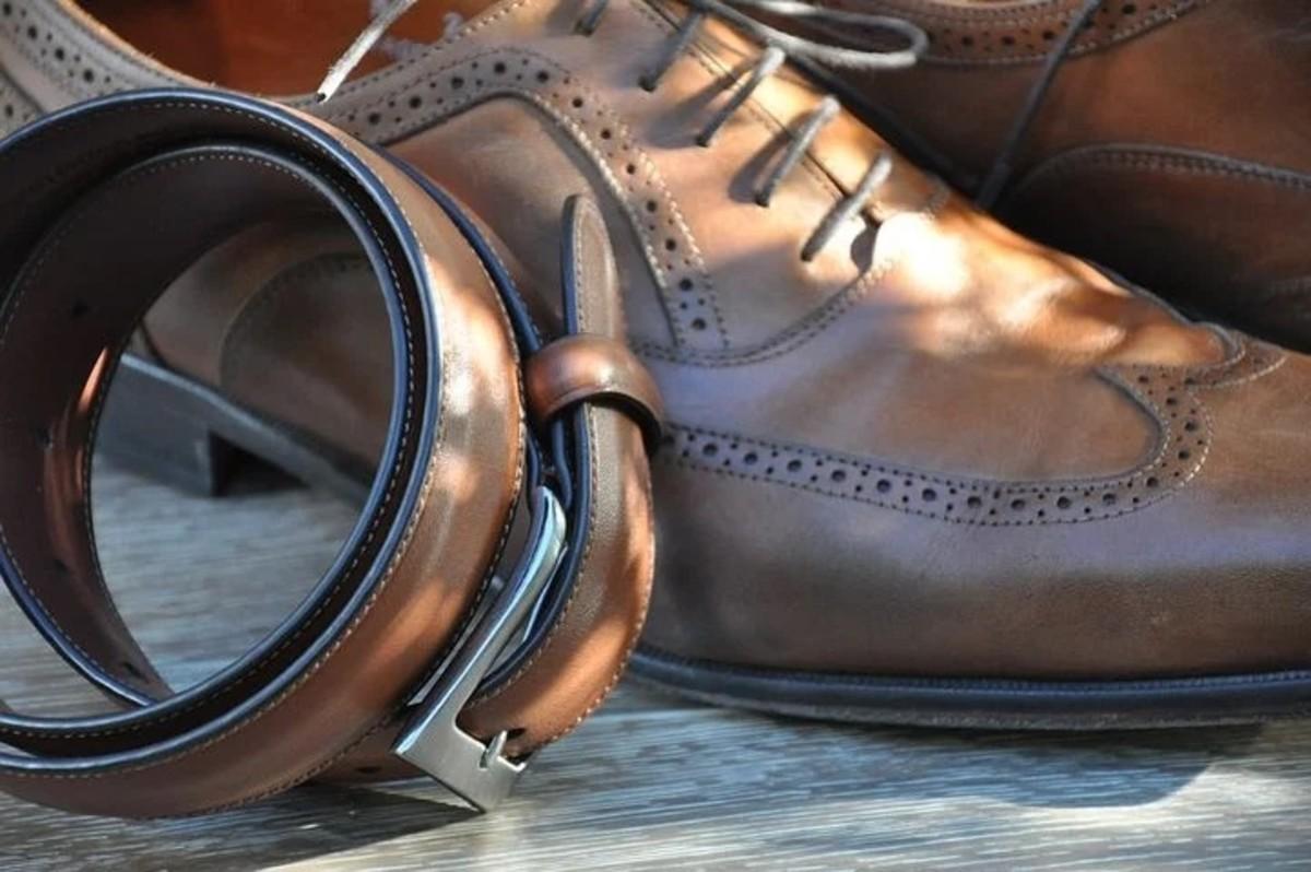 Matching Shoe and Belt