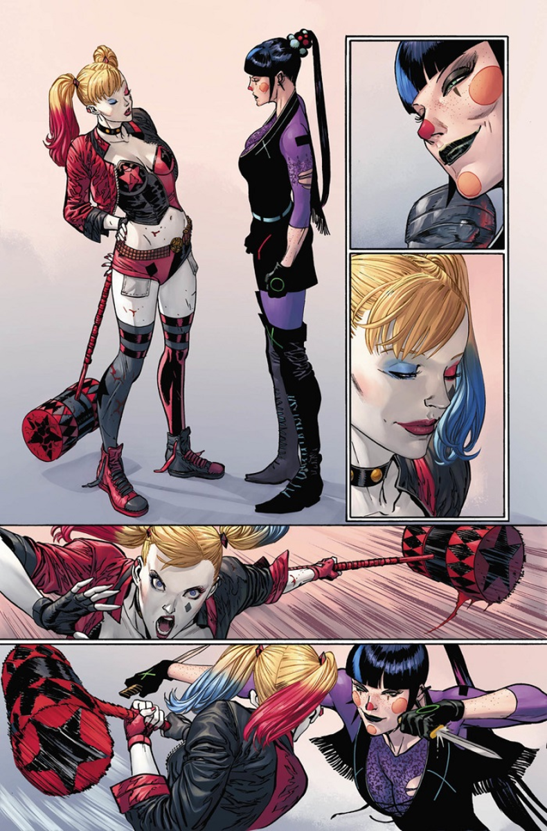Not Harley Quinn, but an incredible simulation
