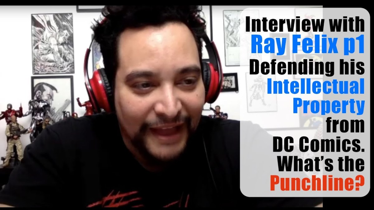 Miguel Guerra's interview with Ray Felix p1 Defending his work from DC Comics. What's the Punchline?